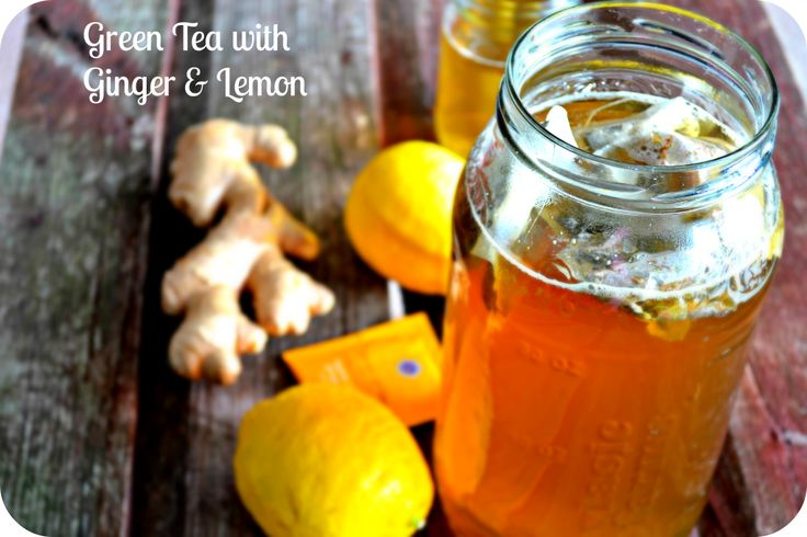 Green tea with ginger and lemon for weight loss – skinny over 40