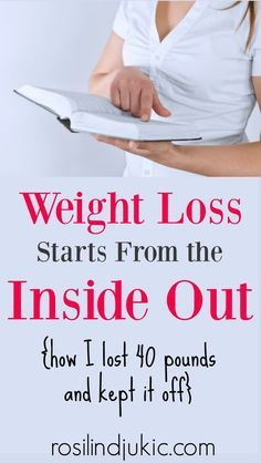 Weight loss starts from the outside ⋆ A small R & R