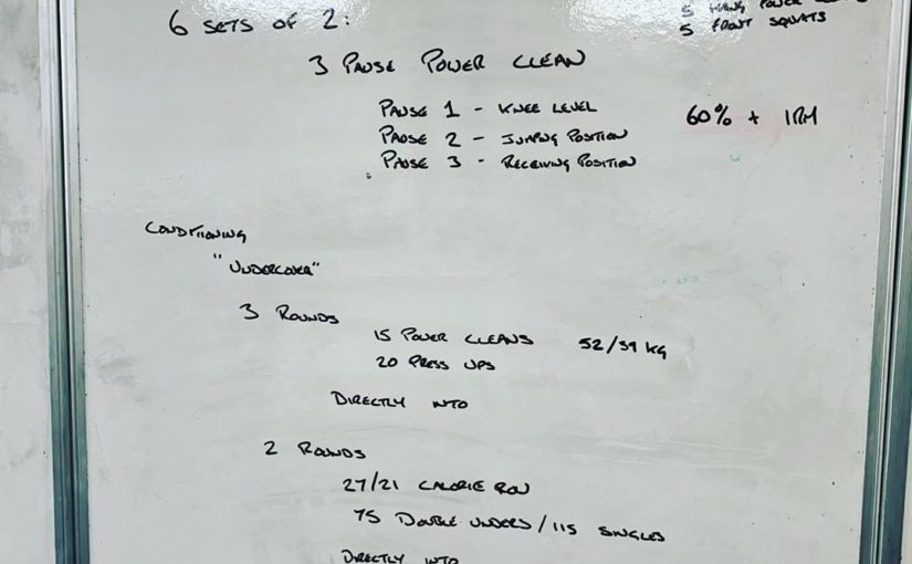 Last night workout, easy first part, not bad middle part but then awful …