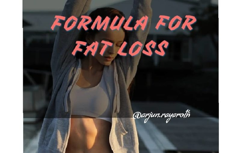 If you think it is a mathematical formula for fat loss. There …