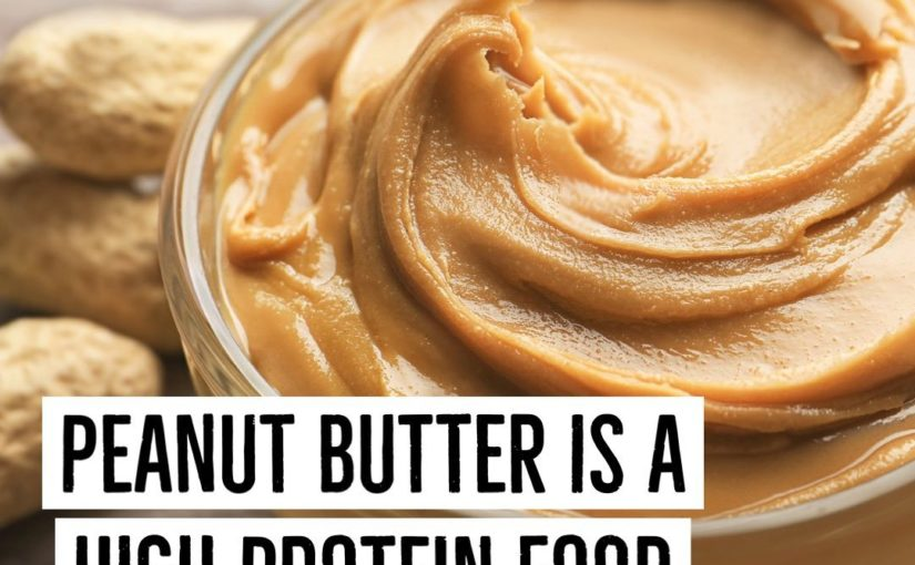 Sometimes I see people writing about how peanut butter can look in the air …
