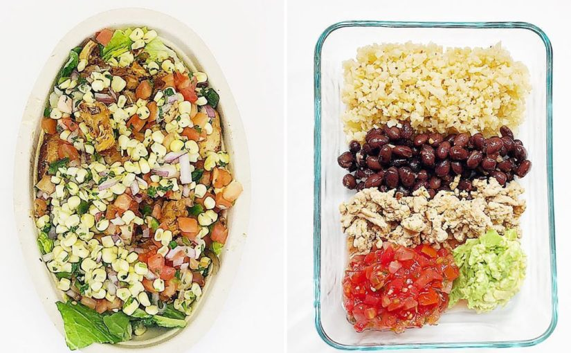Give me if you love burrito bowls! . Sometimes people lose weight if …