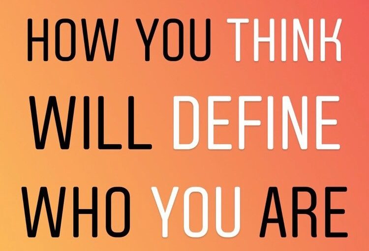 You are who you think you are and choose to be. #onlinecoaching #mindset # on …