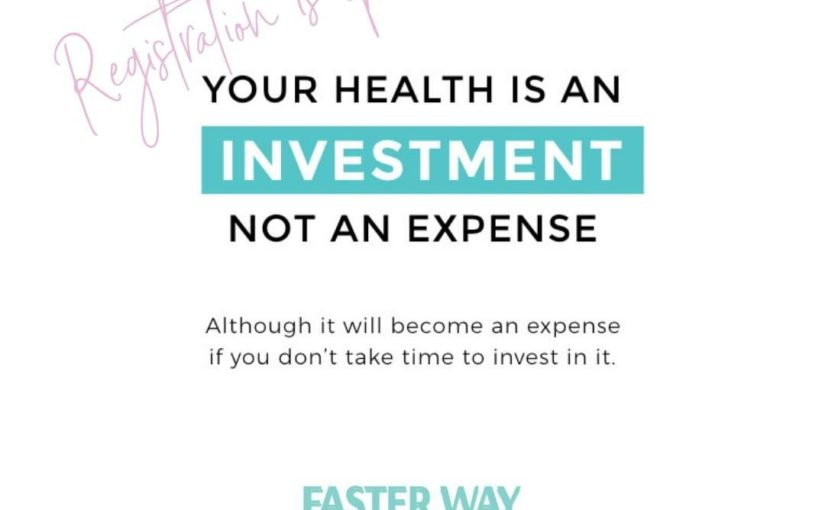 Are you ready to invest in health and learn the lifestyle that will educate …