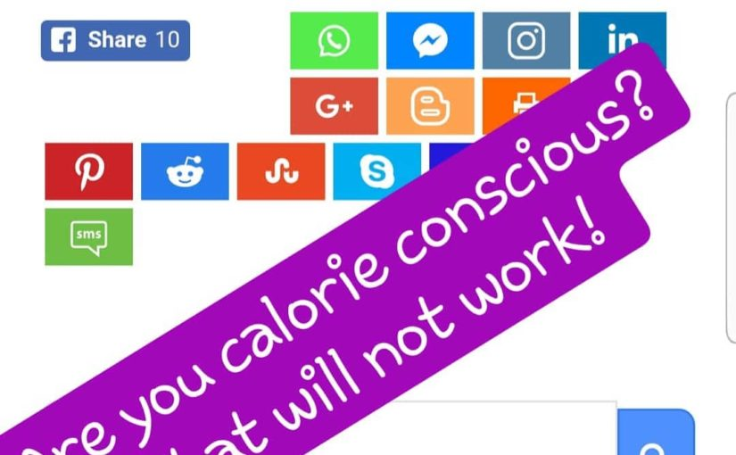 Weight loss is not always about calories! If you think that calorie balance is just …