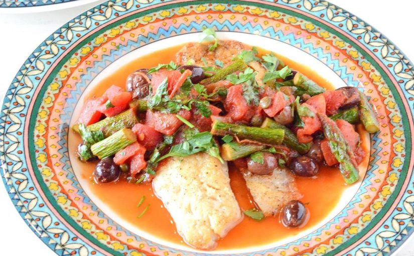 Fish is my way to get quick meals at midnight and this Tilapia Puttanesca is a fav!